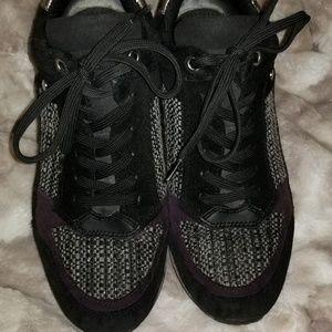 Geox wedge sneakers